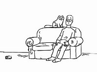 Simon's Cat TV Dinner