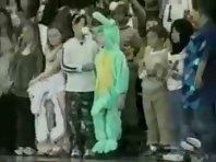 Kid Dragon Costume Fail